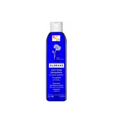 lotion démaquillante apaisante au bleuet Klorane