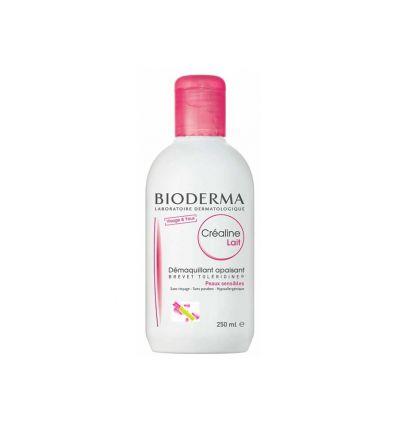 Créaline Lait Démaquillant LAIT NETTOYANT apaisant Bioderma 250 ml