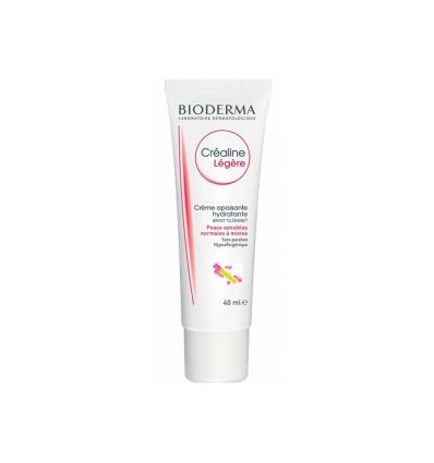 Crealine cream light soothing and moisturizing Bioderma FACE CARE