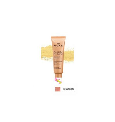 Teint Eclat Prodigieux 01 Eclat naturel Nuxe Tinted cream face make-up