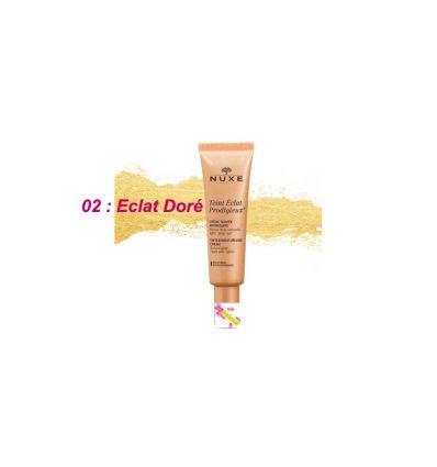 Teint Eclat Prodigieux 02 Golden radiance face Nuxe
