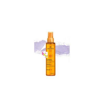 Tanning oil face & body SPF 10 NUXE SUN SOLAR CARE