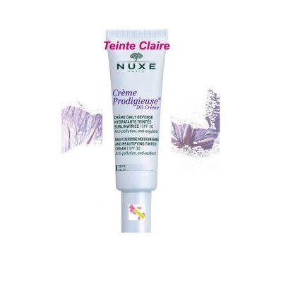 Crème Prodigieuse DD Crème Soin visage hydratant teinte claire Nuxe
