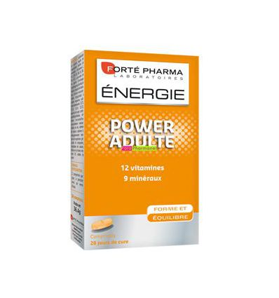 Energie Power ADULTE 28 CP à avaler Forte Pharma