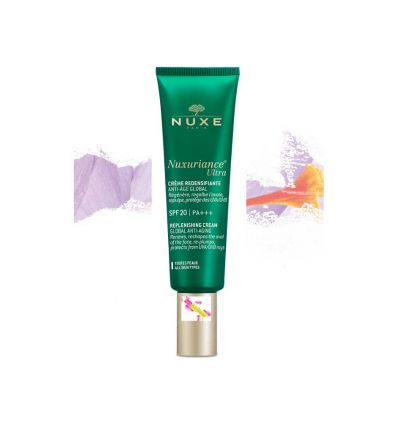 Nuxuriance ULTRA cream SPF 20 DAY replenishing face care global anti-ageing NUXE