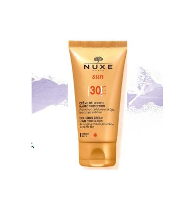 Face cream delicious High Protection SPF 30 Nuxe SOLAR PRODUCT
