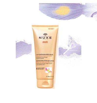 Lait fraîcheur Après-Soleil visage et corps Nuxe Sun