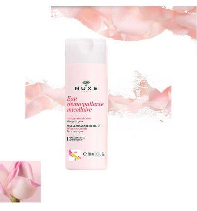 eau demaquillante rose nuxe