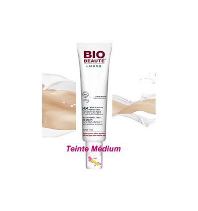 BB crème soyeuse perfectrice teinte médium nuxe bio beauté soin visage