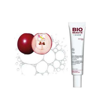 NUXE Soin Rééquilibrant multi correcteur visage Cranberry Nuxe Bio Beauté