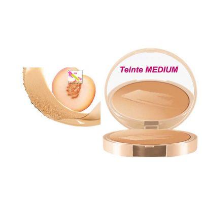 NUXE BB Crème perfectrice compacte MEDIUM soin visage Nuxe BIO BEAUTE SPF 20