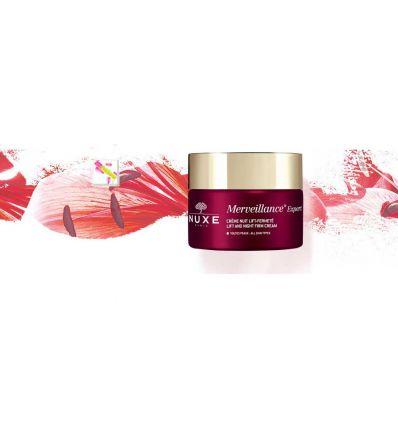 MERVEILLANCE EXPERT Cream Night anti-wrinkles face care NUXE