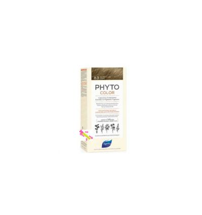 Phytocolor 8.3 blond light gold hair coloration PHYTO phytosolba