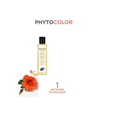 PHYTOCOLOR Shampooing protecteur de couleur Phytocolor care phytosolba PHYTO COLOR