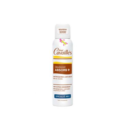 Déodorant Déo ABSORB+ EFFICACITE 48H spray 150 ml Roge CAVAILLES