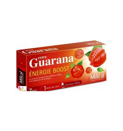 MILICAL GUARANA Energie Boost MILICAL 7 DOSES extra guarana