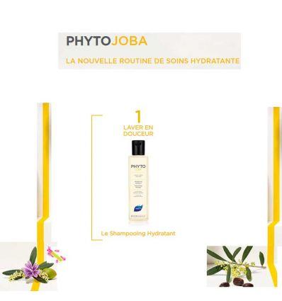 PHYTOJOBA Shampooing hydratant cheveux secs PHYTO 250 ml
