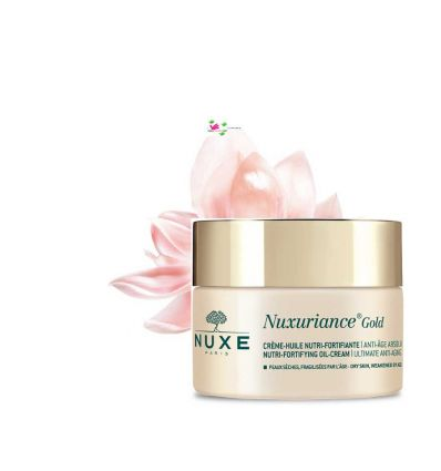 NUXURIANCE GOLD crème huile nutri fortifiante anti age pot 50 ml NUXE