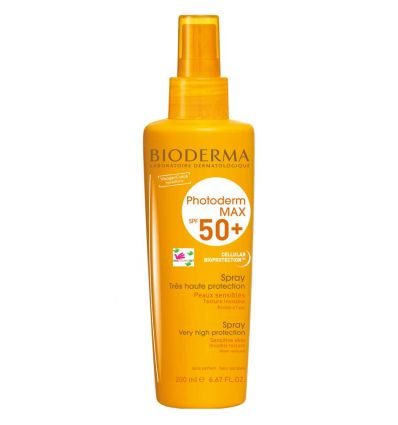 Photoderm Max Spray SPF 50+ visage & corps 200 ml Bioderma