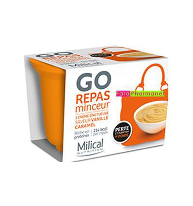 GO MEAL Express Slim Meal French Vanilla/Toffy Milical