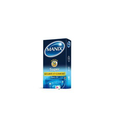 Super Boîte de 14 préservatifs MANIX
