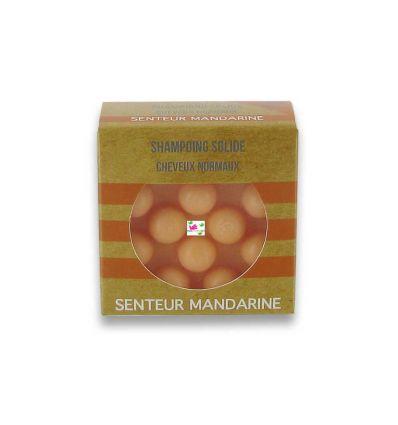 SOLID SHAMPOO normal hair scent MANDARIN,