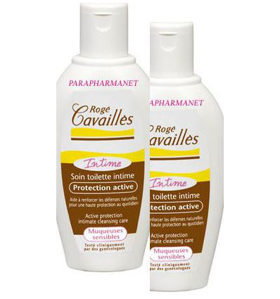 Active protection intimate cleansing care pack of 2 fl 200 ML Roge Cavailles