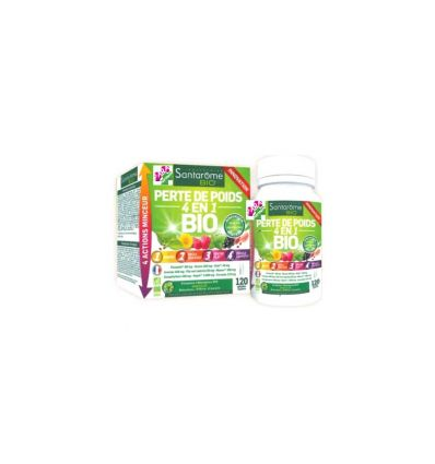 SANTAROME LOOSE WEIGHT 4 IN 1organic slim schedule