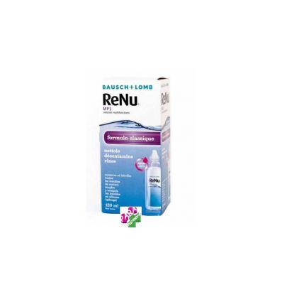 RENU SOLUTION NETTOYAGE LENTILLES fl 120 ml etui inclus