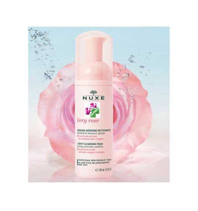 NUXE VERY ROSE LIGHT CLEANSING FOAM 150 ml face care