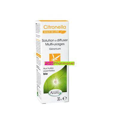 Citronella solution à diffuser Géranium Le Comptoir Aroma