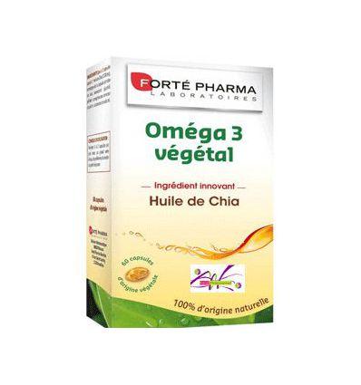 OMEGA 3 VEGETAL 60 Capsules Huile de CHIA Forte Pharma