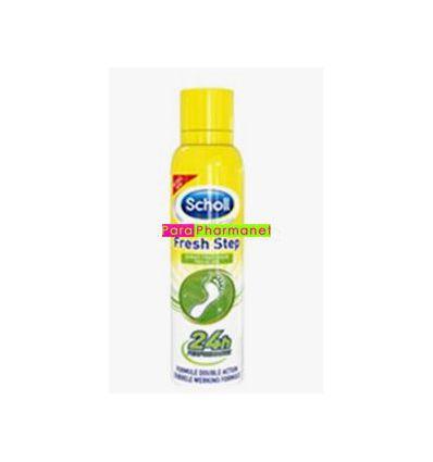 Scholl fresh step déo fraîcheur pieds déodorant spray 150 ml