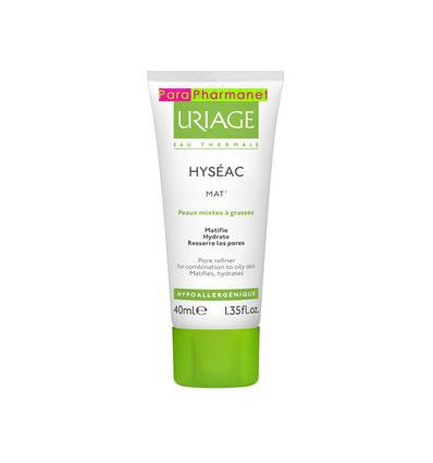 HYSEAC MAT' Hydra Matifying Emulsion URIAGE