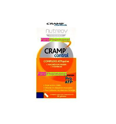 Cramp control Complexe ATPquine 30 gélules NutréoV santé