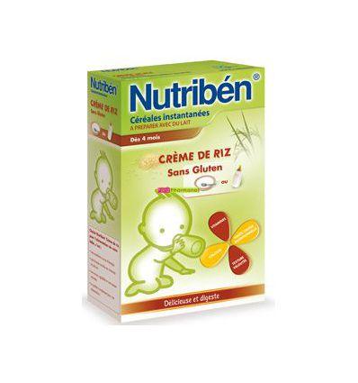 Cereal Rice cream gluten free nutriben