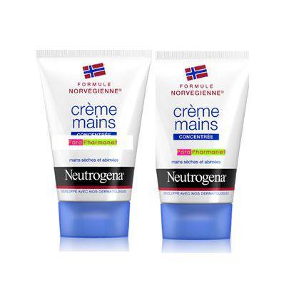 Crème Mains Parfumée concentrée Duo NEUTROGENA