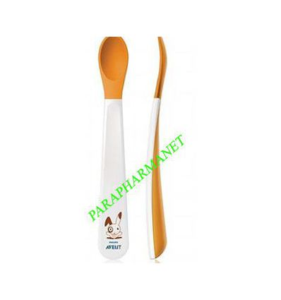 Weaning spoons with soft tip Avent