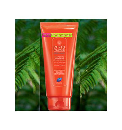 Shampoing Gel douche Réhydratant Phytoplage Phyto