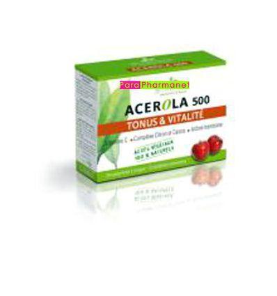 Acerola 500 Vitamine C 500 cp à croquer 3 CHENES