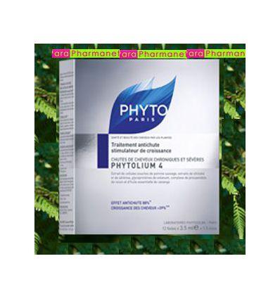 phytoLIUM 4 concentré antichute cheveux stimulateur de croissance PHYTO