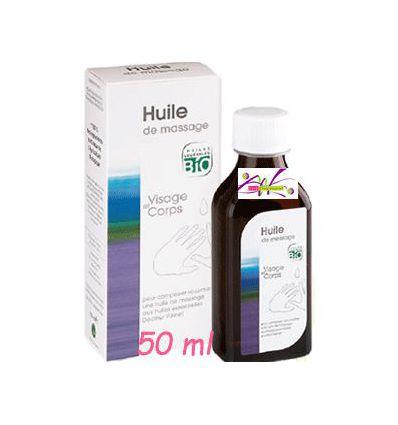 Huile de massage 50 ml Aromathérapie Dr Valnet