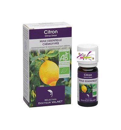 Huile essentielle BIO Citron Docteur Valnet