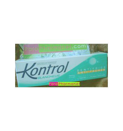 Kontrol Whitness toothpaste Stain prevention Omega