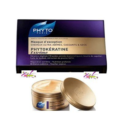 PHYTOKERATINE Extrême MASQUE d'exception Phyto