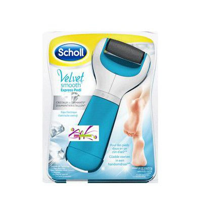 SCHOLL VELVET SMOOTH EXPRESS PEDI FEET HYGIENE CARE SCHOLL