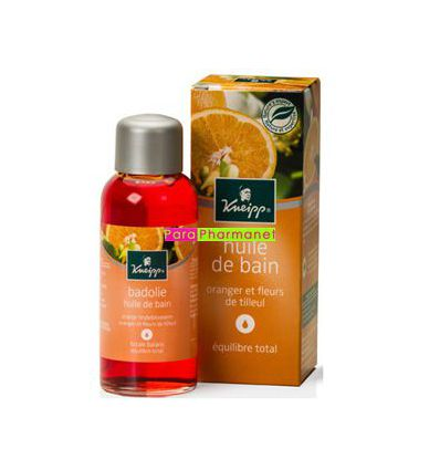 Bath Lime blossom / Orange Blossom. KNEIPP