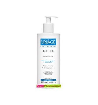 Xemose emollient milk 400 ml dermatological care Uriage