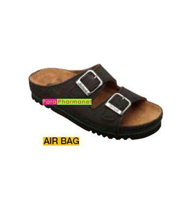 458e1b86e9f6cb Hommes Mules Air Bag Noir Permanents Chaussures Scholl SCHOLL parap...