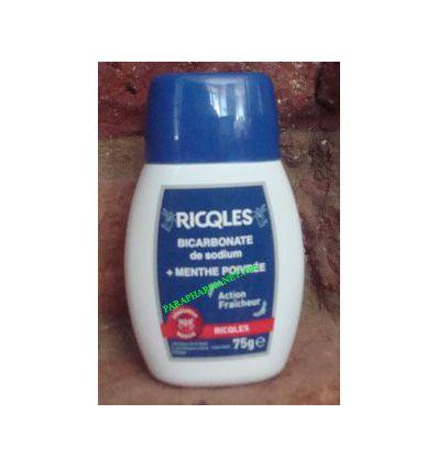 Bicarbonate de Sodium + Menthe Poivrée Ricqles